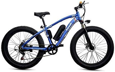 SHIJING Bicicleta de montaña eléctrica de aleación de ...