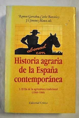 Descargar Libro Historia Agraria De La España Contemporanea. Tomo 1 Angel Garcia Sanz