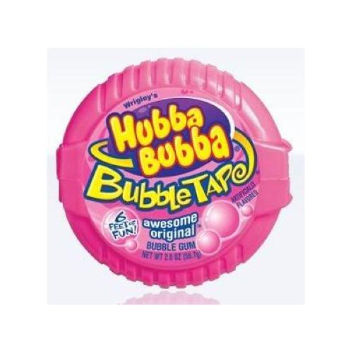 (Wrigley Outrageous Original Hubba Bubba Bubblegum Tape - 12 per case.)