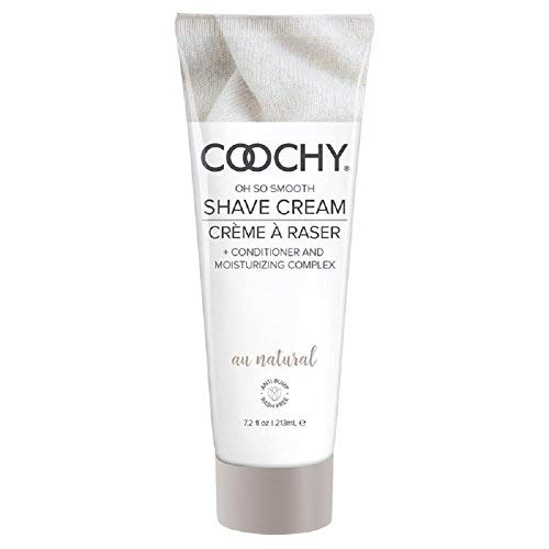 Coochy Shave Cream Au Natural - 7.2 oz