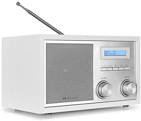 Blaupunkt Rxd 180 Dab Plus Digital Radio Kleines Bluetooth Radio Aux In Ukw Fm Radio Mit Rds Küchenradio Einfache Bedienung Drehregler Weiß Heimkino Tv Video