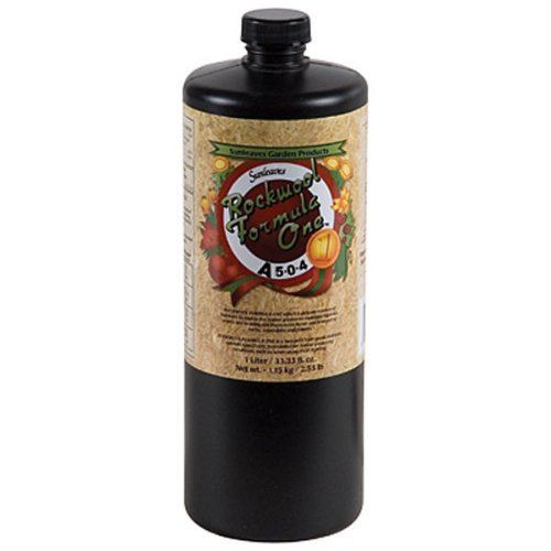 (1 qt. - Rockwool Formula One A - Vegetative Stimulator - Hydroponic Nutrient Solution - 5-0-4 NPK Ratio - Sunleaves)