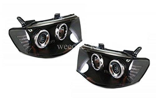 LED L.E.D Front Projector Headlight Head Lamp for Mitsubishi Triton L200 2006-2014