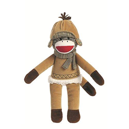(Winter Holiday Sock Monkey 12-Inch)