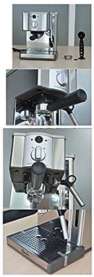 kohstar 1pc 220V 1100W Coffee Maker Espresso Coffee Maker Espresso Coffee Machine Stainless steel Automatic coffee make machine by KOHSTAR