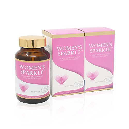 Vision Smart Center - Women's Sparkle Natural Herbal and Antioxidant Supplement for Women's Health & hormones Balance | 3 Bottle Value Pack by Vision Smart Center