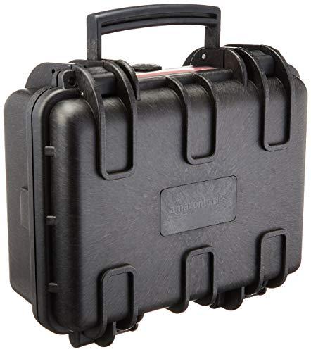 AmazonBasics Hard Camera Case - Small (Renewed)