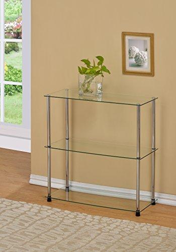 glass and chrome shelves - 2