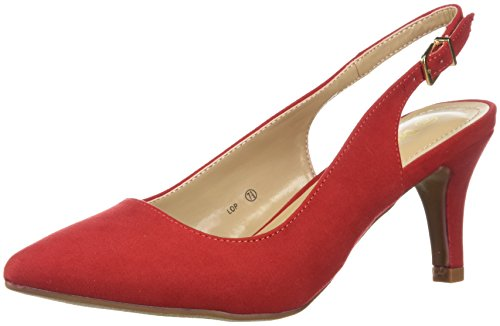 Dream Women's Lop Pump Red Suede kF1aP8