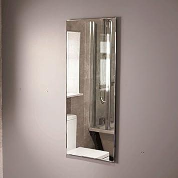 Bathroom Mirror 1200x500 Glass 5mm Bevelled Edge