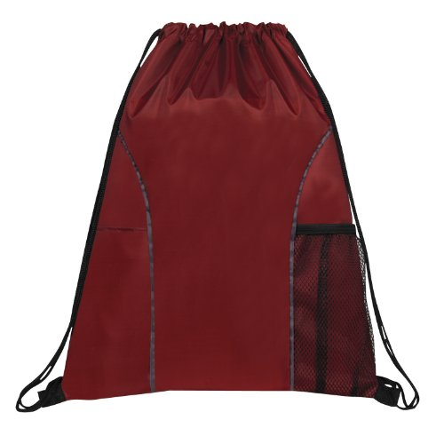 Dual Pocket Drawstring Backpack BAGS product image