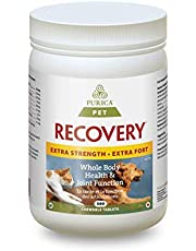 PURICA Pet - Recovery Extra Strength, 360 Delicious flavoured chewables - Whole Body Health for Pets