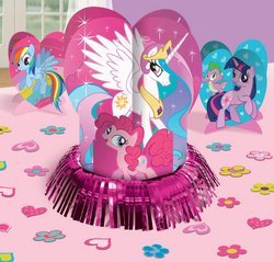 Amscan - My Little Pony Friendship Magic Table Decorating Kit