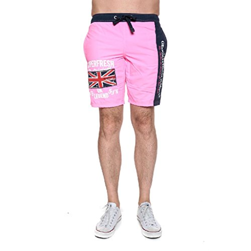 Geographical Norway - Quodesh Men Badeshort (M, F-PINK)