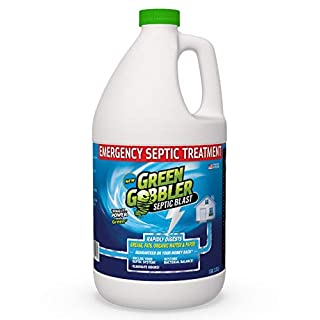 Septic Blast! Emergency Septic Tank Treatment & Maintenance | Removes Septic Tank Clogs | Removes Septic Tank Odors & Restores Septic System | Prevents Overflows … (1 Gallon)