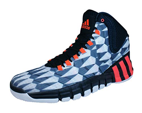 adidas Sneakers Adipure Crazyquick 2 Mens Basketball Shoes-White-13.5