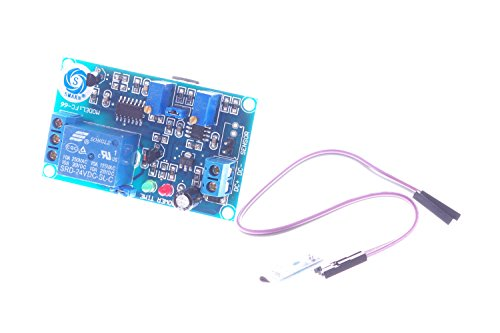 SMKAN® DC 24V 2-LED Light 1 Channel Thermal Sensor Infrared Trigger Time Delay Relay Module With MINI Board