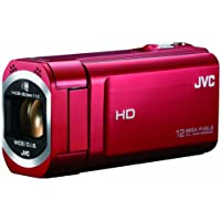 JVC KENWOOD JVC Camcorder EVERIO GZ-V675 Internal memory 32GB RoseRed GZ-V675-R - International Version (No Warranty)