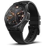 【初発売】TicWatch S2 フィットネス スマートウォッチ Wear OS by Google 5 ATM防水&水泳対応 屋外の探検に適応 腕時計 iPhone&Android対応 ブラック