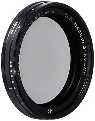 B+W 49mm XS-Pro Digital Vario ND with Multi-Resistant Nano Coating by Schneider Optics