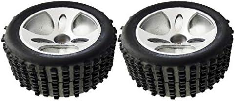 2個 1/18 RCカースペアパーツ タイヤ ホイール A959-01 Wltoys A959適用