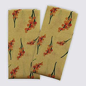 Jumbo Reusable Beeswax Food Wrap, Extra Long (50 x 35cm), Organic Cotton (Single).