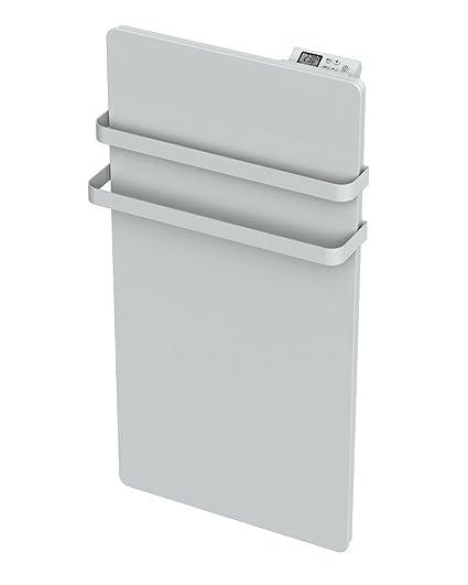 Cayenne Radiador Toallero cristal LCD (1000 W, color blanco)