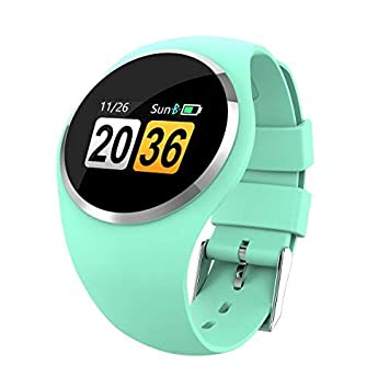 Hangang Bluetooth Smartwatch Montre Connectée étanche IP65 Montre Fitness Cardiofréquencemètre, Podomètre, Réveil,Notification