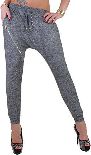 Black Denim - Pantalón - chino - para mujer gris