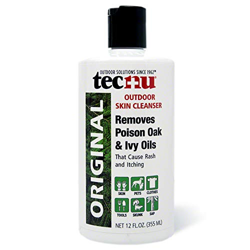 Tec Labs Tecnu Original Poison Oak & Ivy Outdoor Skin Cleanser - First Step in Poison Ivy Treatment - 12 Ounce