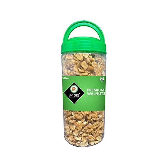 Spicy Carte Premium Walnuts (Broken), 500gm