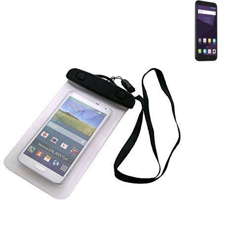 Custodia Cellulare Impermeabile Universale Pollici Waterproof Cover Case per ZTE Blade A6. Universale Beach Bag / parapioggia / manto nevoso 16 centimetri x 10 centimetri - K-S-Trade(TM)