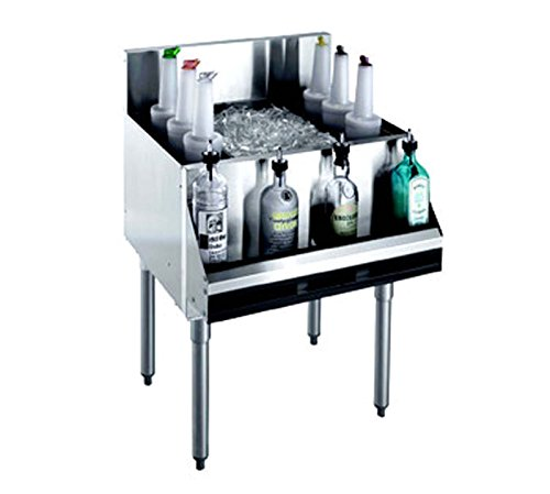 Underbar Cocktail Unit (Krowne Metal KR18-24 Royal 1800 Series Underbar Ice Bin/Cocktail Unit 24