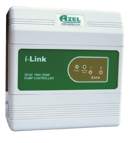 Azel SP-82 Two Zone Switching Relay for Hydronic Radiant Floor Heating Systems ()