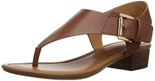 (Tommy Hilfiger Women's Kitty Heeled Sandal, tan, 9 Medium US)