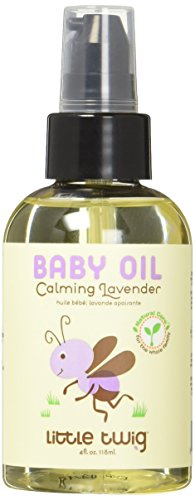 little twig baby oil lavender