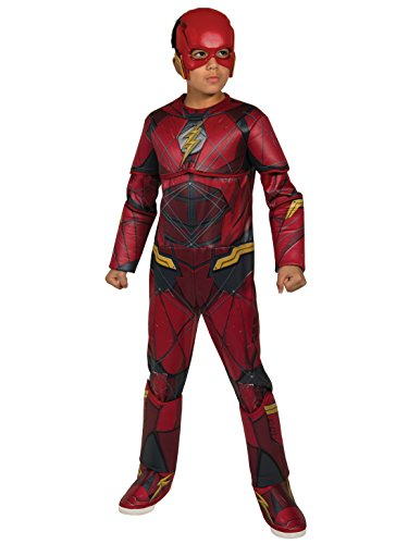 justice+league Products : Rubie's Costume Boys Justice League Deluxe Flash Costume