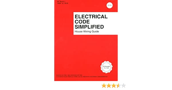 Groovy Electrical Code Simplified British Columbia P S Knight Wiring Cloud Cosmuggs Outletorg