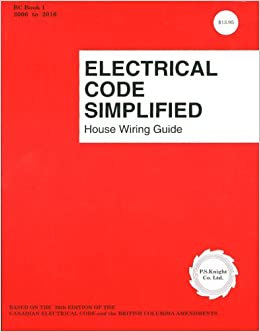 Swell Electrical Code Simplified British Columbia P S Knight Wiring Cloud Cosmuggs Outletorg