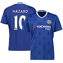 New Season Football Jersey Mens Chelsea #10 Hazard Soccer Home Jersey M