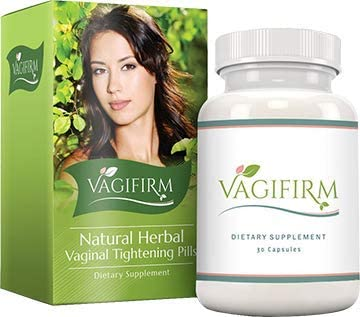 Vagifirm Vaginal Tightening Pills – All Natural Herbal Supplement. 1 Month Bottle Supply