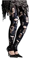 Zombie Tatter Tights Costume Hosiery Adult