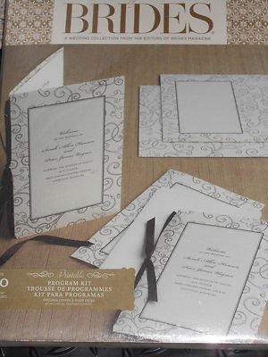 amazon com gartner brides magazine brown ivory printable wedding