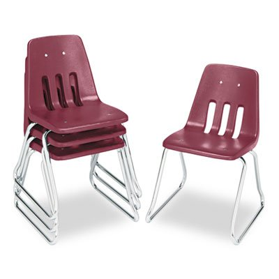 Virco 9600 Classic Series Classroom Chairs, 18