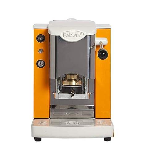 Máquina de café de monodosis de papel Ese 44 mm Faber Slot inoxidable Color Naranja: Amazon.es: Hogar