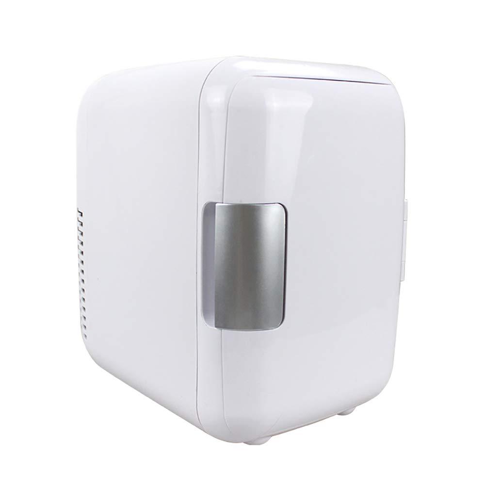 Super Tranquilo En El Veh/ículo Congelador Fo 12V 4 litros Port/átil Mini Refrigerador del Refrigerador Y Calentador con AC DC//Cables De Alimentaci/ón XXF Mini Nevera