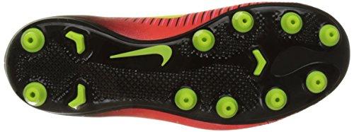 Nike Unisex-Kinder Mercurial Vapor XI AG Fußballschuhe Rot (Total Crimson/vlt/blk/pnk Blst)