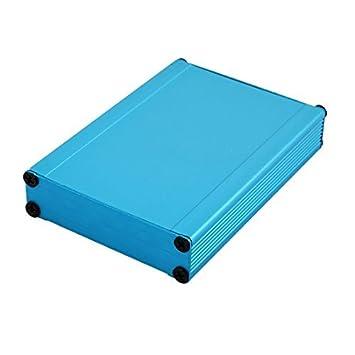 eDealMax 21 x 80 x 110 mm multiuso electrónica de aluminio extruido recinto Azul