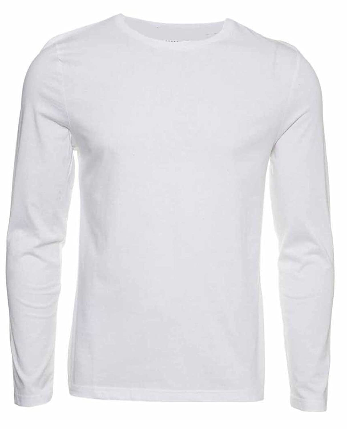 Mens long sleeve white tee shirts custom shirt for Mens long sleeve white t shirt