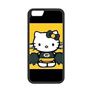 Green Bay Packers iPhone 6 Plus 5.5 Inch Cell Phone Case Black persent zhm004_8561244